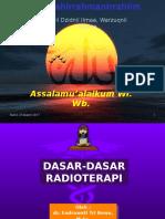 Dasar Radioterapi