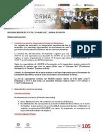 Boletín Informativo de Emergencias N° 78