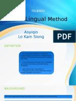 TSLB3033-Audiolingualism