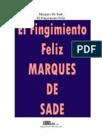 El fingimiento feliz - Marqués de Sade