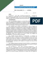 Modelo Resolución Equipo Formulador POA ATM META 35 Y 41