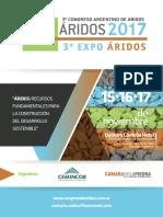 Circular-3º Congreso Argentino de Áridos