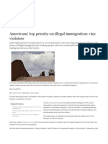 Americans' top priority on illegal immigration