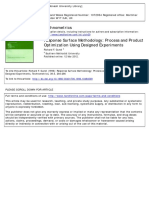 2012-Response Surface Methodology Process and Product Optimization Using Designed Experiments