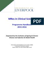 MRes Handbook 2015-2016 FINAL 12Aug15