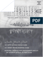Afterlife - Reference Guide