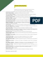 """Firmantes  del manifiesto """"El derecho, al servicio de las libertades"""", documento de juristas contra el proceso"""