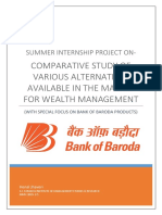 Comparative Study of Various Alternatives Available in the market for Wealth Management.pdf