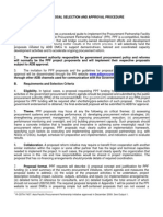 PPF Guidelines and Proposal Template