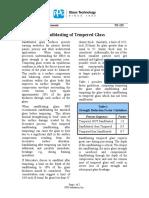 69_TD-125 Sandblasting of Tempered Glass