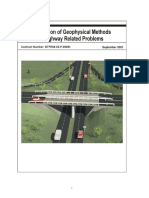 Application of Geophysical Methods to Highway Related Problems