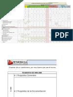 Listado Requisitos ISO 9001 Por Procesos