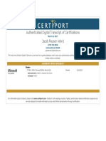 jacob word mos word certificate