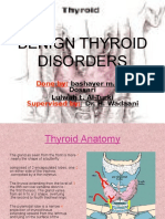 Benign Thyroid Disorders oke