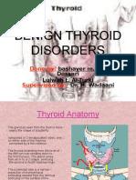 Benign Thyroid Disorders oke