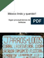 ¡México lindo y querido!