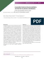 El modelo de los 5 grandes y el uso problemático de Internet.pdf