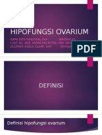 HIPOFUNGSI OVARIUM