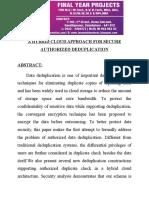 3198A Hybrid Cloud Approach for Secure Authorized Deduplication Doc
