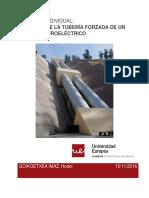 CÁLCULOS DE LA TUBERÍA FORZADA DE UN CENTRAL HIDROELÉCTRICO