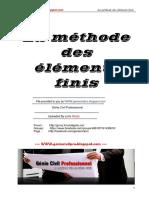 Cours - La Méthode Des Éléments Finis by GC-Pro