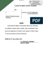 06012016 ORDER Dismiss