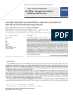 An Empirical Insight on Spanish Listed Companies Perceptions of International Financial Reporting Standards 2010 Journal of International Accounting A