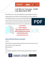 Basic Network Theory Concepts GATE Study Material in PDF 1