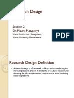 S 2-Research Design-Dr Plavini