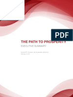 Advisory Council on Economic Growth - Report 2
