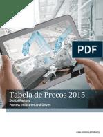 Tabela de Precos Siemens 2015