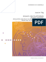 2008 Tåg - Essays on Platforms