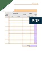 Matriz de Plan de Accion en RSE