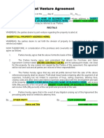 Joint_Venture_Agreement_For_Co-Wholesaling_.docx