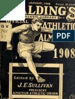 (1908) Spalding Official Athletic Almanac