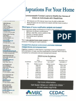 Home Modification Loan Program