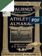 (1909) Spalding Official Athletic Almanac