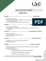 Programa del Curso IAC