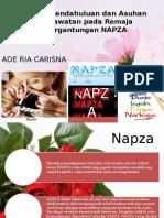 Laporan Pendahuluan dan Asuhan Keperawatan pada Remaja Ketergantungan NAPZA.pptx