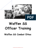 Waffen SS Officer Training