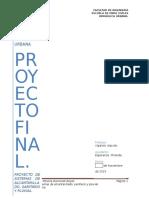 Proyecto de sistema de alcantarillado, sanitario y pluvial