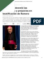 LPG - Postulador Desveló Las Dificultades y Prejuicios en Beatificación de Romero - 04 02 15