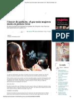 EDH - Revista Mujeres - Cáncer de Pulmón El Que Más Mujeres Mata en Países Ricos - 05 02 15
