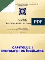 1 CURS INSTALATII - ISPM + CCIA II