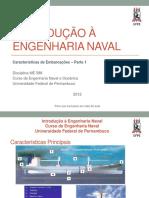 3.1 - Características Da Embarcações - Parte 1