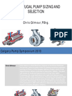 Centrifugal Pump Selection and Sizing