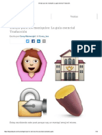 Emojis Para Los Maniquíes_ La Guía Esencial Traducción