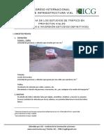 Importancia de Los Estudios de Trafico en Proyectos Viales - Rocio Espinoza Ventura