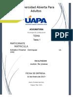 TEMA I Sociologia Dominguez Pimentel