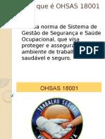 O que é OHSAS 18001